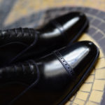 The James Oxford in black leather calf