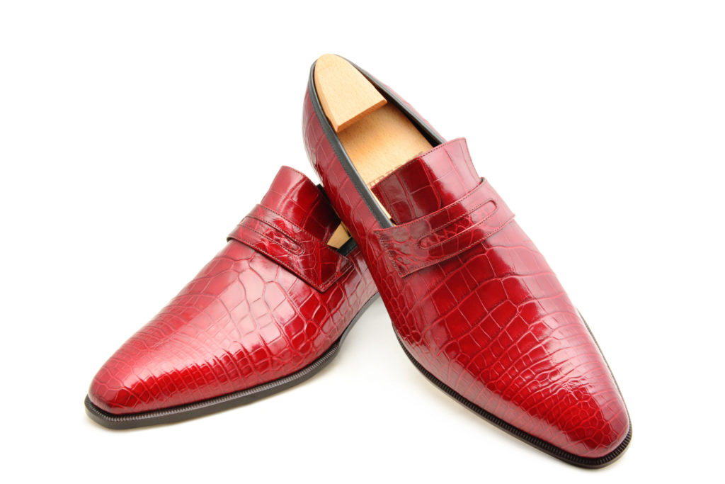 Le mocassin loafer Vlad en crocodile
