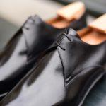 Le derby à deux oeillets André en cuir noir
