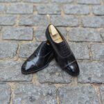 Le richelieu oxford balmoral Constant en cuir noir