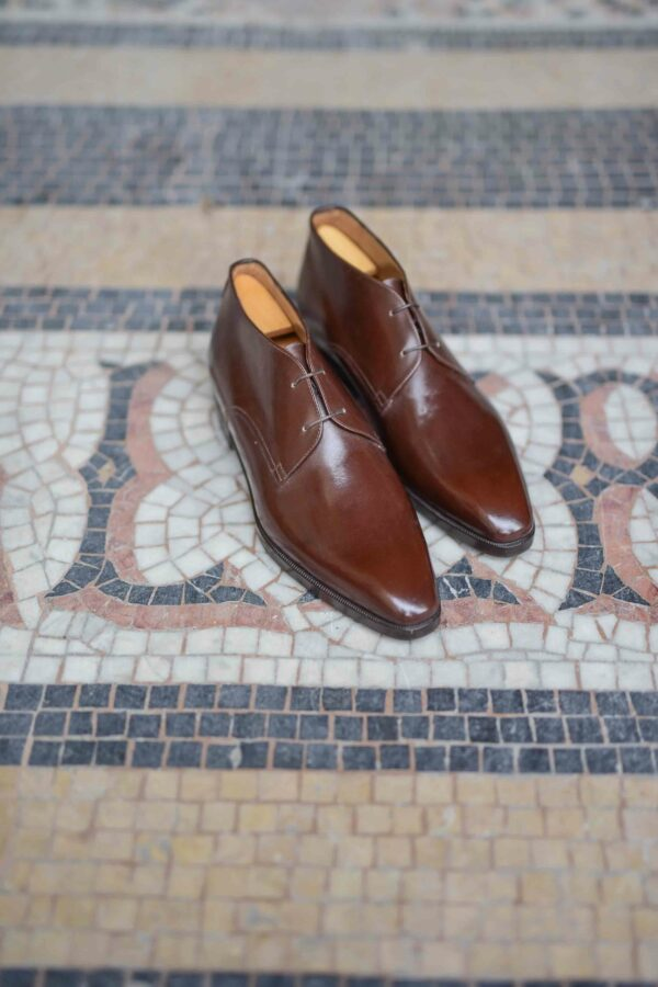 The brown chukka boot Joris