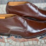La bottine chukka Joris en cuir marron