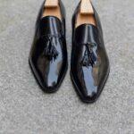 Le mocassin loafer Solal en cuir noir