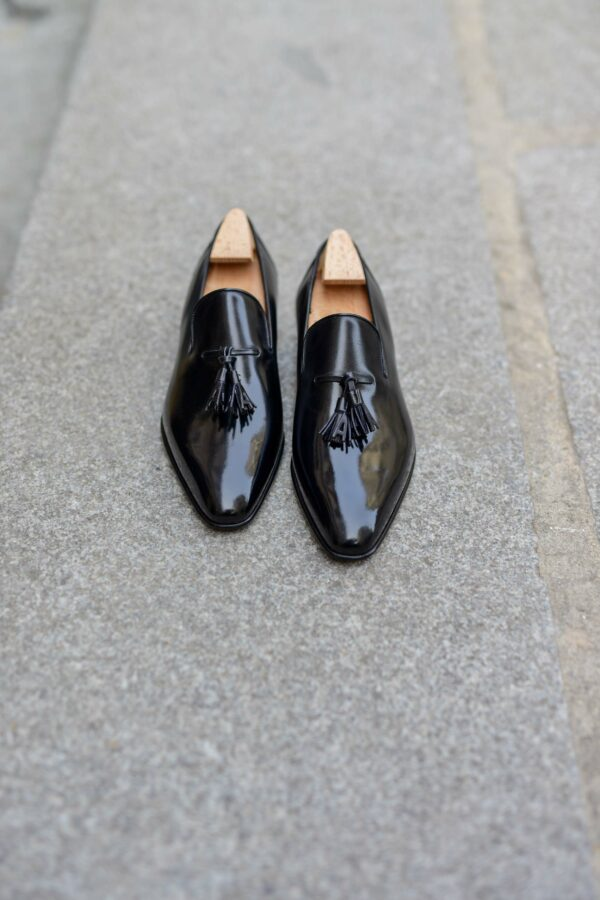 The Solal loafer in black calf
