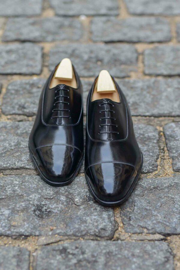 Le richelieu oxford Constant en cuir noir